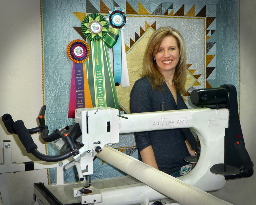 with line fs debutante w machines machine long quilt top inch arm px quilting of frame the
